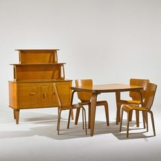 Midcentury Dining Set in Maplewood, New Jersey ~ Apartment Therapy Classifieds