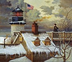 Hope Your Seas are Calm by Charles Wysocki