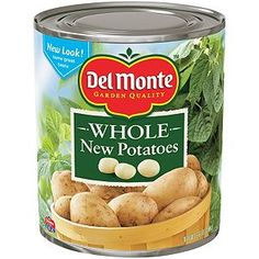 Del Monte Whole New Potatoes (6.6 lb. can)