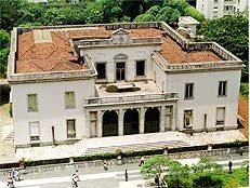 São Paulo , SP • BRASIL • mansão da família Matarazzo na Avenida Paulista