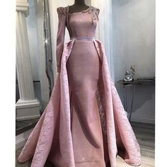 Shop Robe diane from Au Royaume Du Caftan in Dresses, available on Tictail from in 44 Prom Dresses Long With Sleeves, Cheap Prom Dresses, Simple Dresses, Nice Dresses, Formal Dresses, Ball Gowns Fantasy, Style Couture, Mermaid Evening Dresses, Dress To Impress
