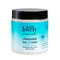 bodycology Free & Lovely Chamomile Tea & Mint Foaming Scrub fl oz, pack of 1 Shea Body Butter, How To Exfoliate Skin, Chamomile Tea, Smell Good, Beauty Care, Body Care, Health And Beauty, Bath And Body, Moisturizer
