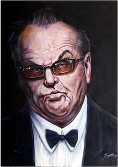 Jack Nicholson Artist: Niall O Loughlin