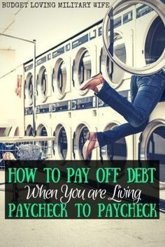 How to Pay Off Debt When Living Paycheck to Paycheck. Debt Payoff Tips, #Debt Debt, Debt Payoff #Debt #FinanceWorksheets