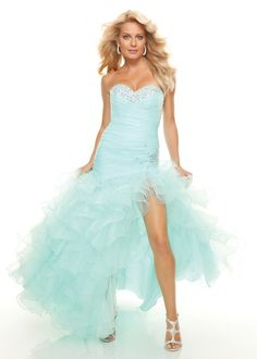 Till fluffy prom dress
