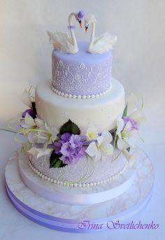 свадебный торт с лебедями: 19 тыс изображений найдено в Яндекс.Картинках