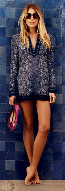 The Iconic Tunic | Tory Burch Resort (I will be wearing mine with something on the bottom, of course)