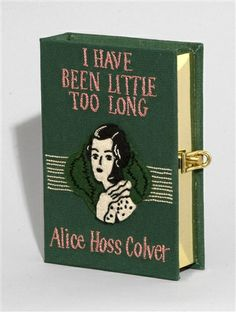Book cover clutch by Olympia le Tan