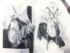 Robyn Orrett - illustrations for project - year student at Kingston University London Sketchbook Layout, Textiles Sketchbook, Sketchbook Inspiration, Fashion Portfolio Layout, Fashion Design Sketchbook, Drawing Fashion, A Level Textiles, Kingston University, 1st Year