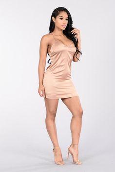 L.O.V.E. Dress - Gold