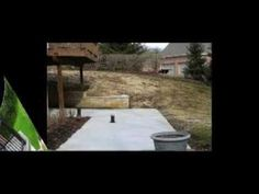 Landscaping projects, before and after