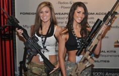 girls with guns 15 Girls with guns go together like milk and cookies (30 Photos)