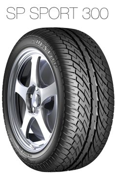 A tyre designed for luxury passenger vehicles.