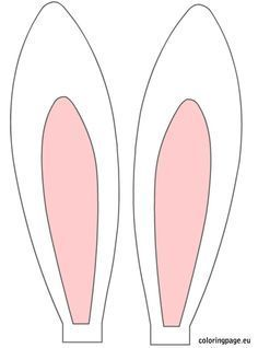 Rabbit ears Printable Rabbit EarBunny ears patternEaster Bunny Ears Bunny ears to print free printable bunny ears - headbands Glitter, cotton balls, etc Check the EASTER Bunny History and Easter eggs facts Easter Bunny, also called the Easter Rabbit or Ea Bunny Ears Template, Easter Bunny Template, Bunny Templates, Easter Bunny Ears, Hat Template, Easter Chick, Easter Bunny History, Easter Art, Easter Eggs