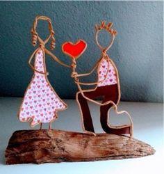 Wire Crafts, Metal Crafts, Felt Crafts, Paper Folding Crafts, Toilet Paper Crafts, Valentines Bricolage, Valentines Diy, Upcycled Crafts, Handmade Crafts