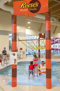 The new Water Works at the Hershey Lodge is fun for the entire family—a zero-entry pool, splash pad, slides and lots of interactive water fun! Hershey Lodge, Hershey Park, Activities For Teens, Water Activities, Zero Entry Pool, Kids Things To Do, Activity Room, Hershey Pennsylvania, Splash Pad