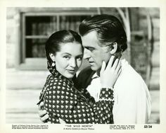 "Stewart Granger & Cyd Charisse - ""The Wild North"" = ""Au pays de la peur"" - Andrew Marton (1952)"