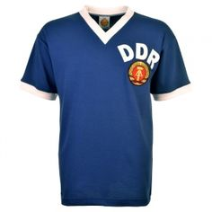 East Germany (DDR) 1974 World Cup Retro Football Shirt