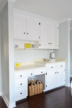 benjamin moore simply white is one of the best white paint colors for cabinets and furniture, trims and doors