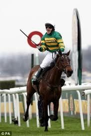 A P McCoy winning the Grand National, on Don't Push It