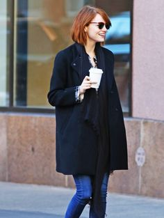 Emma Stone's fall booties are a MUST-buy