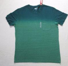 Arizona Jeans Men T Shirt 2XL Green  Smoke Short Sleeve Cotton Polyester 1791 #ArizonaJeans #BasicTee