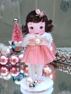 Pink Christmas Decoration by saturdayfinds, via Flickr