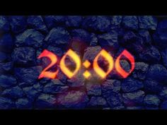 (2) 20 Minutes countdown timer (With Ambient, Relaxing music) - YouTube