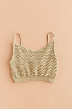 You're going to want to live in this bralette. We love it's waffle texture and it's double lined for extra coverage! Stretches to fit S, M L. One Size Only Nylon Spandex Made in USA Sizing Guide: Bust: Waist: Hips: Love Street Apparel, Summer Store, Minimal Chic, Fit S, Fashion Beauty, Beauty Style, Crochet Bikini, Bikinis, Swimwear