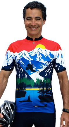 Alaska Arctic Bike Jersey Free Spirit Bike Jerseys Pinterest