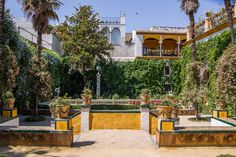 Garden of Casa de Pilatos, Sevilla, Spain - Bold Bliss