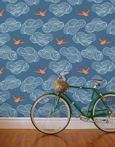 Hygge & West. My new favourite wallpaper designers.