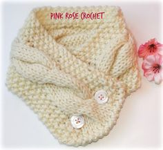 Pink Rose Crochet: Gola Pearl with Braids Knitting - Revenue Crochet Bebe, Crochet For Kids, Knit Crochet, Crochet Hats, Knitting Patterns Free, Knit Patterns, Free Knitting, Crochet Scarves, Crochet Braids
