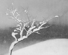 Hayami Gyoshū, Night snow
