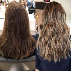 Black Coffee Hair With Ombre Highlights - 10 Cool Ideas of Coffee Brown Hair Color - The Trending Hairstyle Brown Hair Shades, Brown Hair With Blonde Highlights, Brown Hair Balayage, Brown Ombre Hair, Light Brown Hair, Ombre Hair Color, Brown Hair Colors, Hair Highlights, Blonde Foils