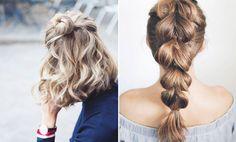 Har du mellanlångt till långt hår vet du hur hemskt det är på sommaren. En känner sig
