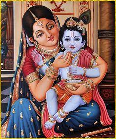Krishna Sudama, Yashoda Krishna, Baby Krishna, Cute Krishna, Radha Krishna Pictures, Lord Krishna, Mysore Painting, Krishna Painting, Madhubani Painting