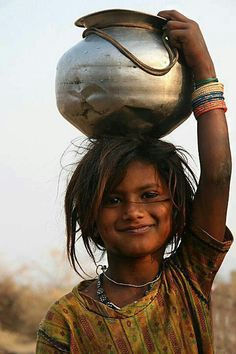 """Beautiful little girl from .) """"Beauty is not in the face; beauty is a light in the heart."""