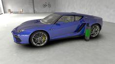 Lamborghini ASTERION LPI 910-4 Wallpaper 1366×768 Wallpaper