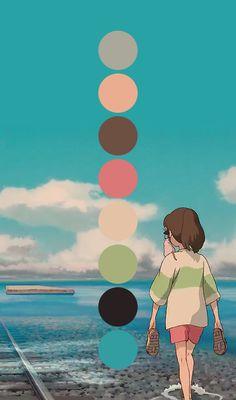 Palettes of Ghibli