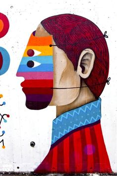 Street Art by Remed & Saner for Wahaca