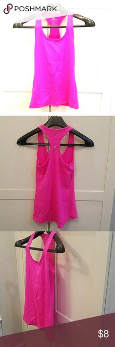 Hot Pink 90 Degree by Reflex Spandex Workout Top Hot Pink 90 Degree by Reflex Spandex Workout Top. Excellent pre-loved condition. Approx Measurements chest 13.5 im, waist 13, hem 16.5. Length 24.5 90 Degree By Reflex Tops Tank Tops