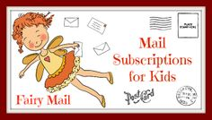 Fun and educational mail for kids! www.etsy.com/shop/FAIRYMAIL Enjoy a 10% discount on subscriptions with coupon code: fairymail99