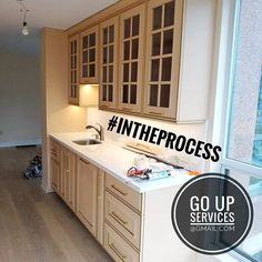 You asked to show more of in the process pictures...so here you go  Btw we work not only in houses like many contractors but also in condos too  Management companies love us because we have business insurance and do great work . . . . .  #kitchenremodel #ikeakitchen #povsedневныйдень #canadagram #бурfоdл148 #adaldyksapalyoryndapwygaiyk #нachalо #ikeahack #tcdttt #interiorideas #homedecorideas #decorideas #tamashakunder #kitchensofinstagram #сейсенбіkeremetkun #kitchengoals #донаdona…