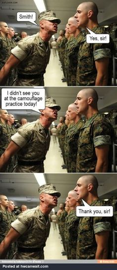 Military humor at it's finest