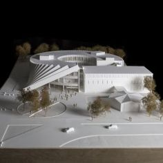 BIG . ISOM . AMHERST (10) Architecture Model Making, Architecture Concept Diagram, Architecture Student, Futuristic Architecture, Facade Architecture, Kindergarten Design, Deconstructivism, Arch Model, Modern Architects