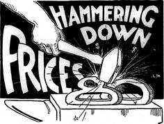 """Hammering Down Prices 