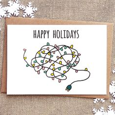 Funny Christmas Card - Funny Holiday Card - Funny Cards - Holiday Greeting Cards - Holiday Cards - Sarcastic Cards - Happy Holidays