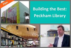 This programme, first broadcast on the Discovery Home and Leisure Channel in 2001, looks at how Peckham library was built. Architect, Will Allsop, who reveals how the L-shape design was conceived and how the design helps create its own green air conditioning unit. We also hear from Hanif Kara, engineer, who talks about the dual purpose of concrete within the building and how the L-shape design defies gravity! L Shape, Shape Design, Local History, Conditioning, Kara, Discovery, Concrete, Purpose, Engineering
