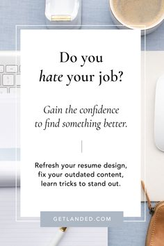 You know what's hard? Writing a GOOD resume when you just aren't that great of an employee. Know what else is hard? Dreading going to work. Resume Advice, Resume Writing Tips, Career Advice, Career Planning, Portfolio Web Design, Template Portfolio, Hating Your Job, Finding A New Job, Career Development